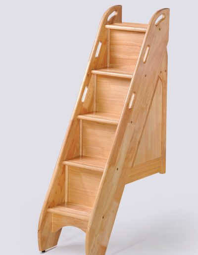 Bunk Bed Stairs Natural