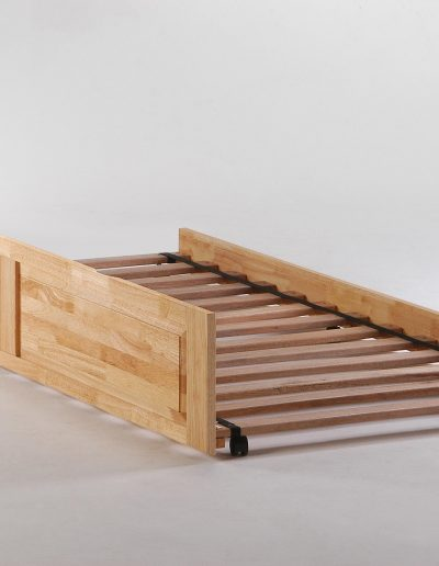 Cinnamon Trundle Bed Natural