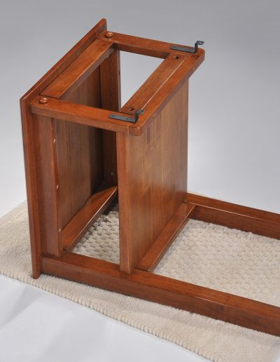Clove Hook-on Nightstand Cherry w Extra Strip attached