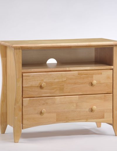 Clove TV Stand Natural (Wood Knobs)
