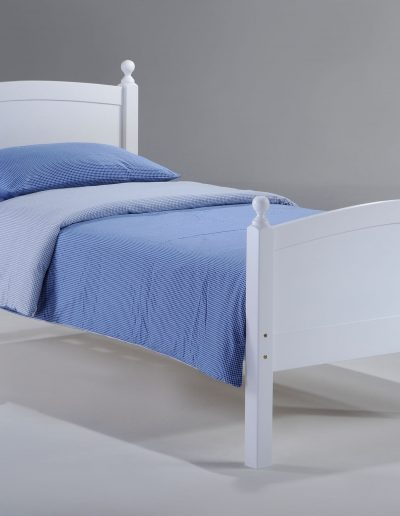Licorice Bed Twin White