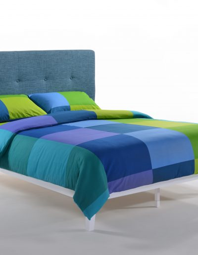 Paprika Bed Queen TealWhite P-Series