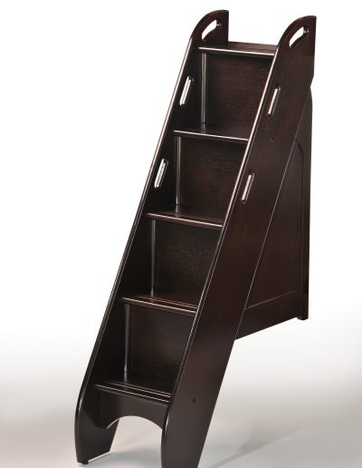 Bunk Bed Stairs Dark Chocolate