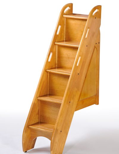 Bunk Bed Stairs Medium Oak