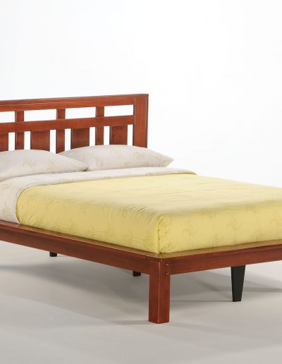 Carmel Bed Full Cherry