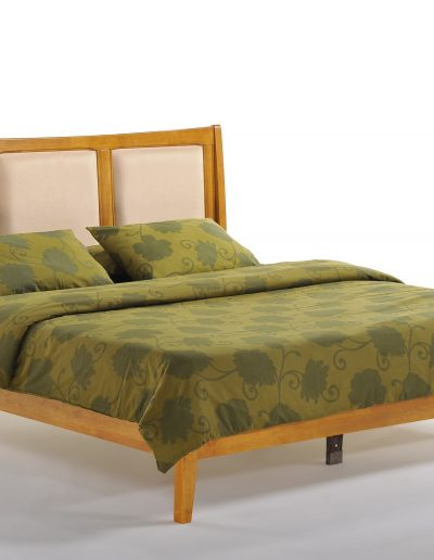 Chameleon Bed Eastern King Medium Oak w P-Series Height