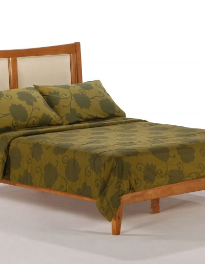 Chameleon Bed Full Medium Oak (2)