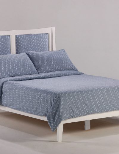 Chameleon Bed Full White