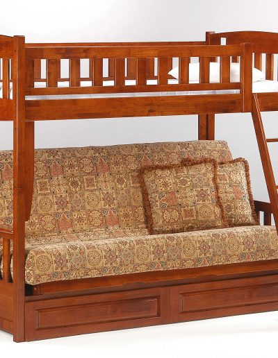 Cinnamon Futon Bunk Cherry