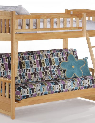 Cinnamon Futon Bunk Natural