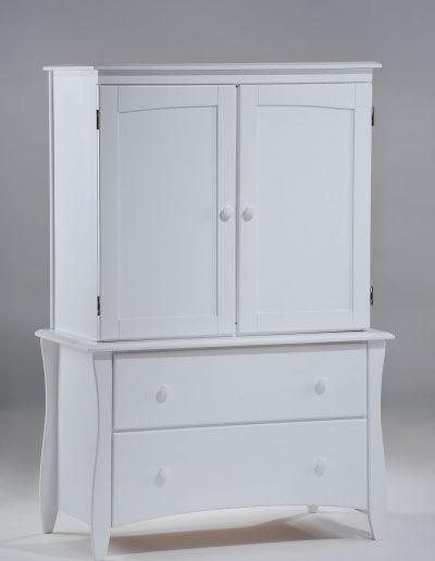 Clove Armoire White