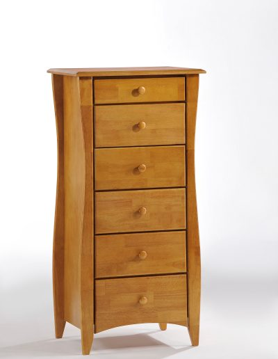 Clove Lingerie Chest Medium Oak (Wood Knobs)