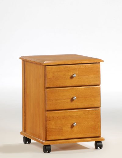 Clove Mobile Unit Medium Oak (Metal Knobs)