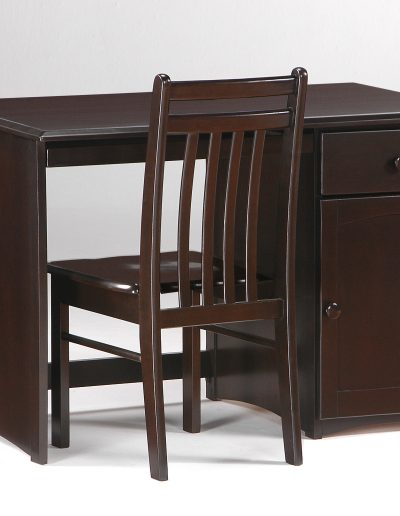 Clove Student Desk & Chair Dark Chocolate