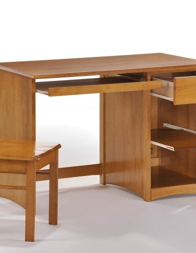 Clove Student Desk & Chair Medium Oak (2)
