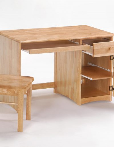 Clove Student Desk & Chair Natural (2)