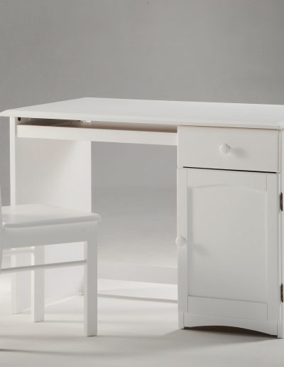 Clove Student Desk & Chair White