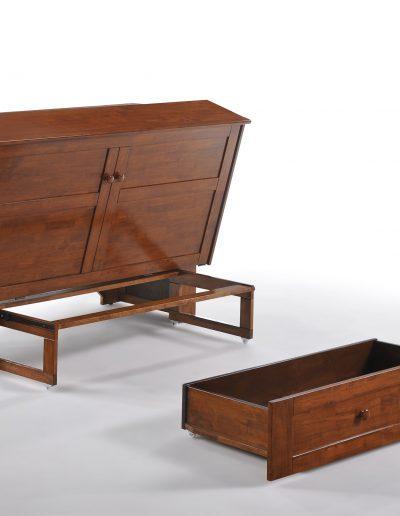 Clover Murphy Cabinet Cherry 2
