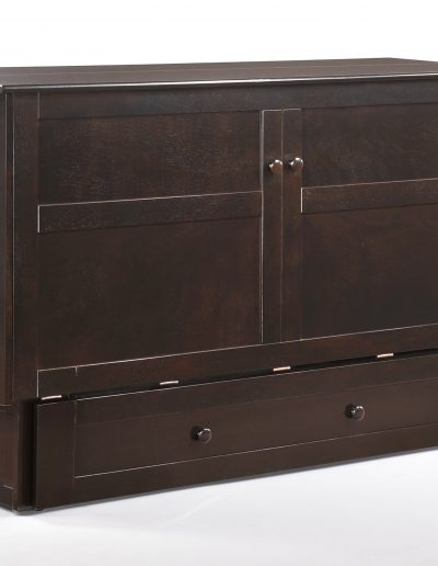 Clover Murphy Cabinet Dark Chocolate Fully Assembled