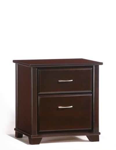 Juniper Nightstand Dark Chocolate