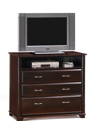 Juniper TV Stand Dark Chocolate w TV unit