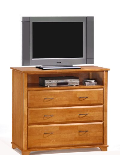Juniper TV Stand Medium Oak w TV unit