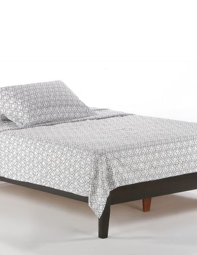 P-Series Basic Bed Full Dark Chocolate