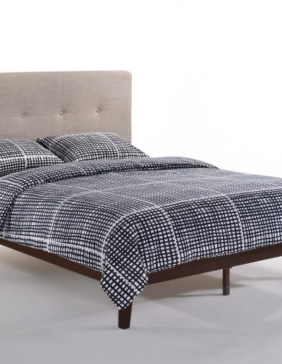 Paprika Bed Queen GreyDark Chocolate P-Series