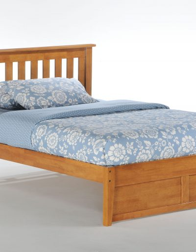 Rosemary Bed Full Medium Oak