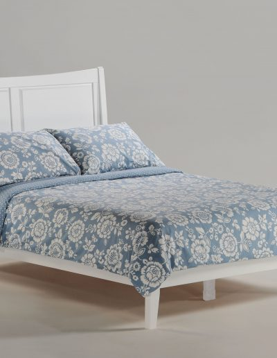 Saffron Bed Full White