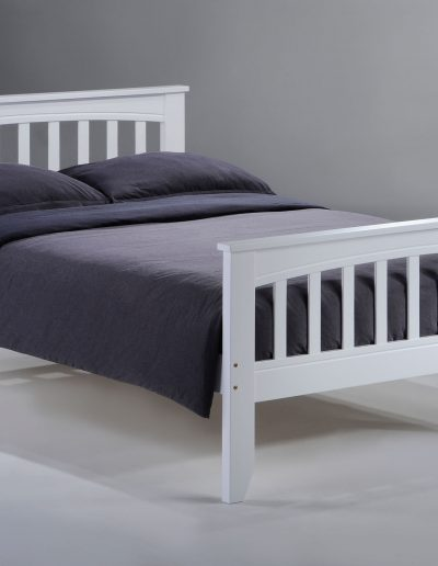 Sasparilla Bed Full White