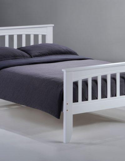 Sasparilla Bed Full White