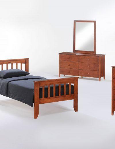 Sasparilla Youth Bed Suite Cherry