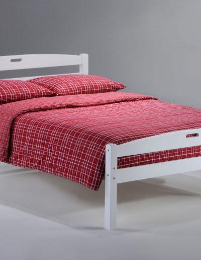 Sesame Bed Full White
