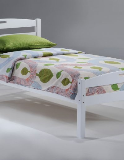 Sesame Bed Twin White