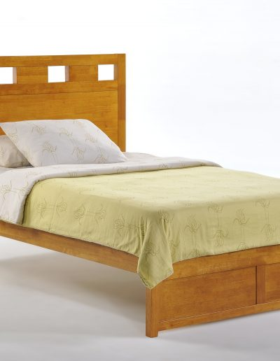 Tamarind Bed Full Medium Oak K-Series