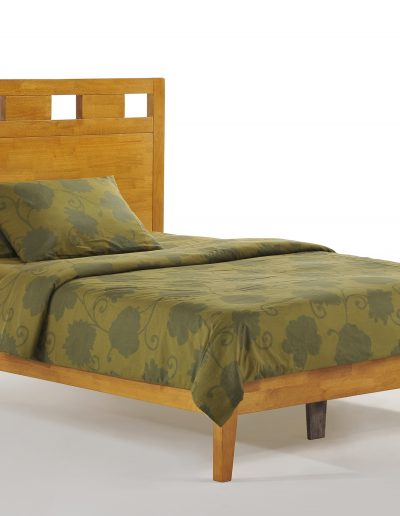Tamarind Bed Full Medium Oak P-Series
