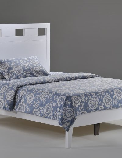 Tamarind Bed Full White P-Series
