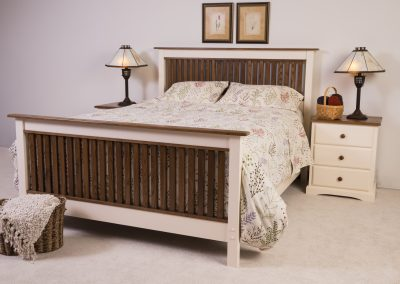 bedworks of maine - two tone pembroke